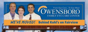 Owensboro Family Eye Care Outdoor Board