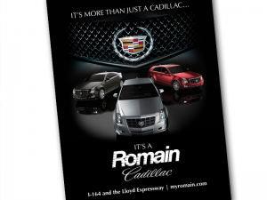 Romain Cadillac Brochures