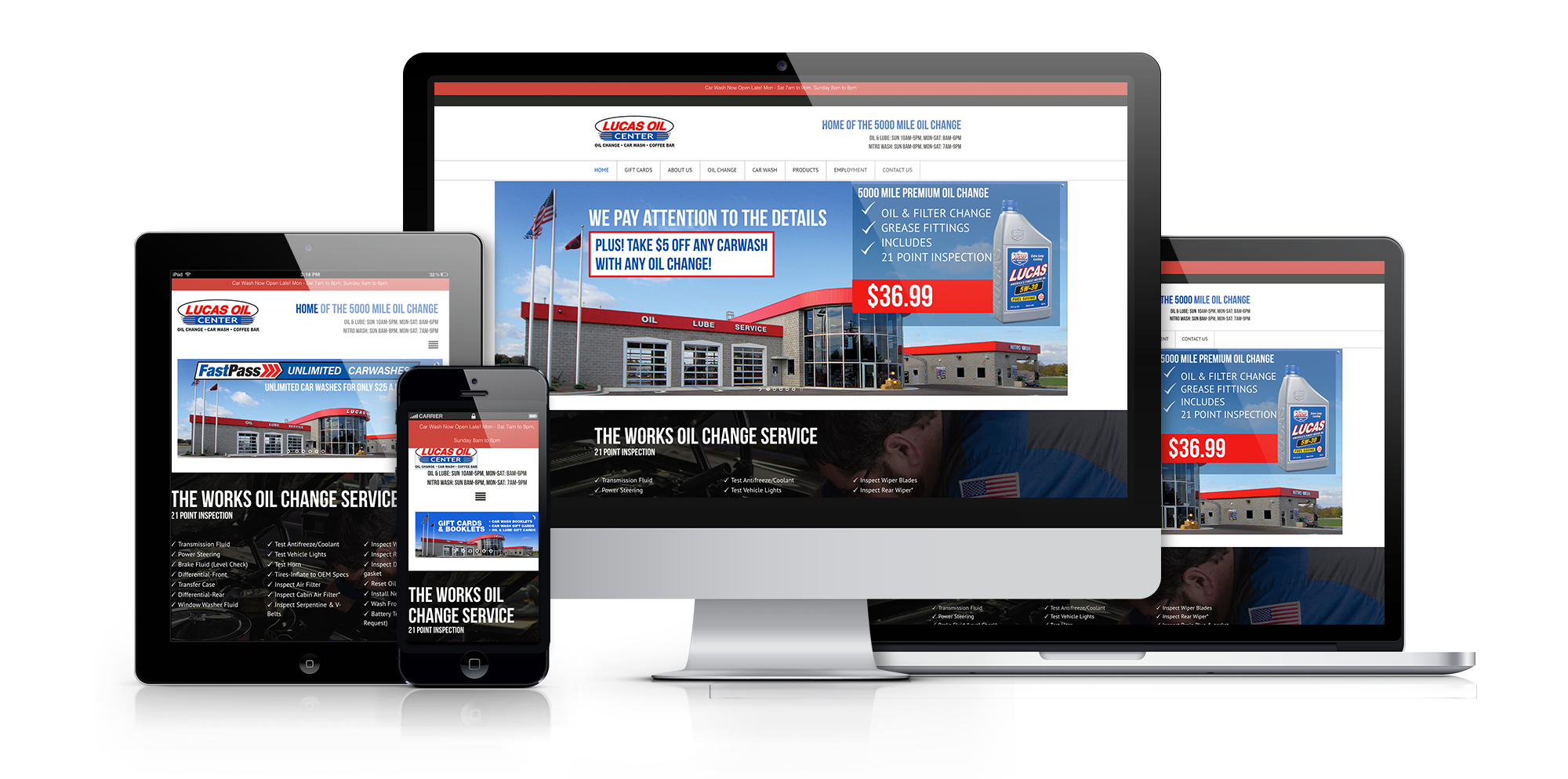 Website_LUCAS OIL CENTER