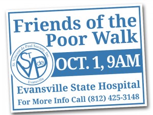 Friends of the Poor Walk Flyer